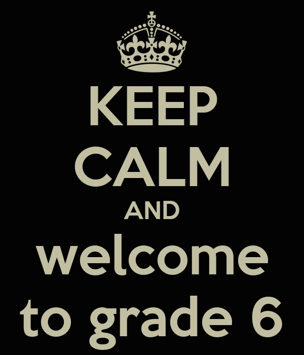 Welcome new Grade 6s to Rutland Middle School!